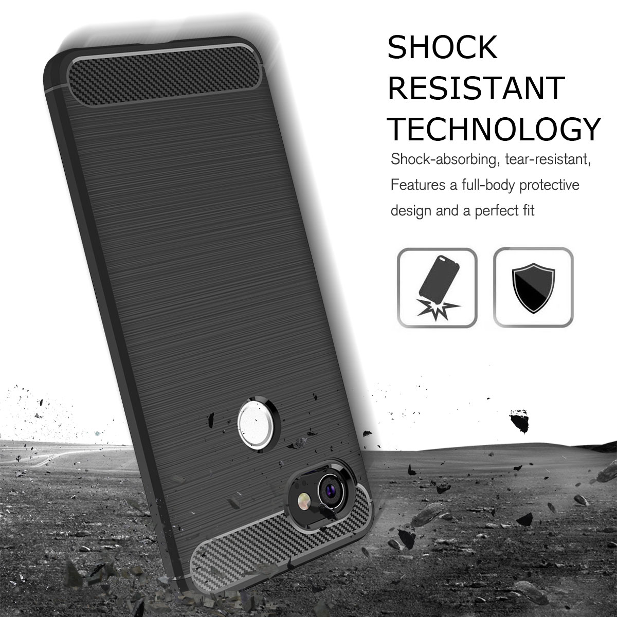 For-Google-Pixel-2-2XL-Ultra-Thin-Rubber-Leather-Bumper-TPU-Shockproof-Case thumbnail 19