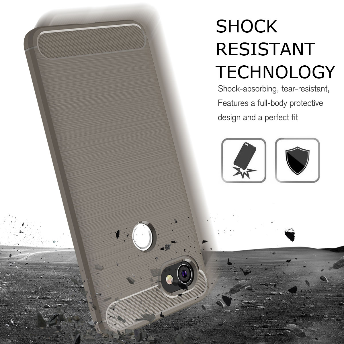 For-Google-Pixel-2-2XL-Ultra-Thin-Rubber-Leather-Bumper-TPU-Shockproof-Case thumbnail 26