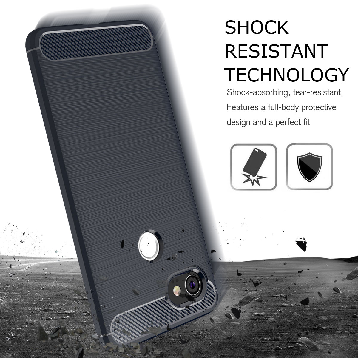 For-Google-Pixel-2-2XL-Ultra-Thin-Rubber-Leather-Bumper-TPU-Shockproof-Case thumbnail 33