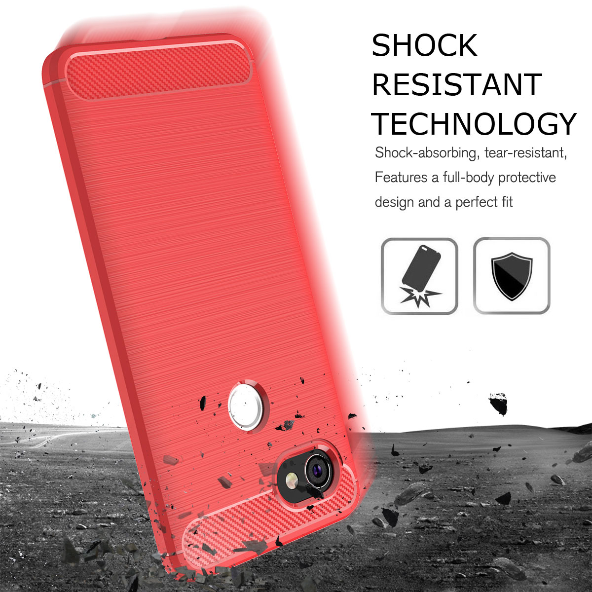For-Google-Pixel-2-2XL-Ultra-Thin-Rubber-Leather-Bumper-TPU-Shockproof-Case thumbnail 40