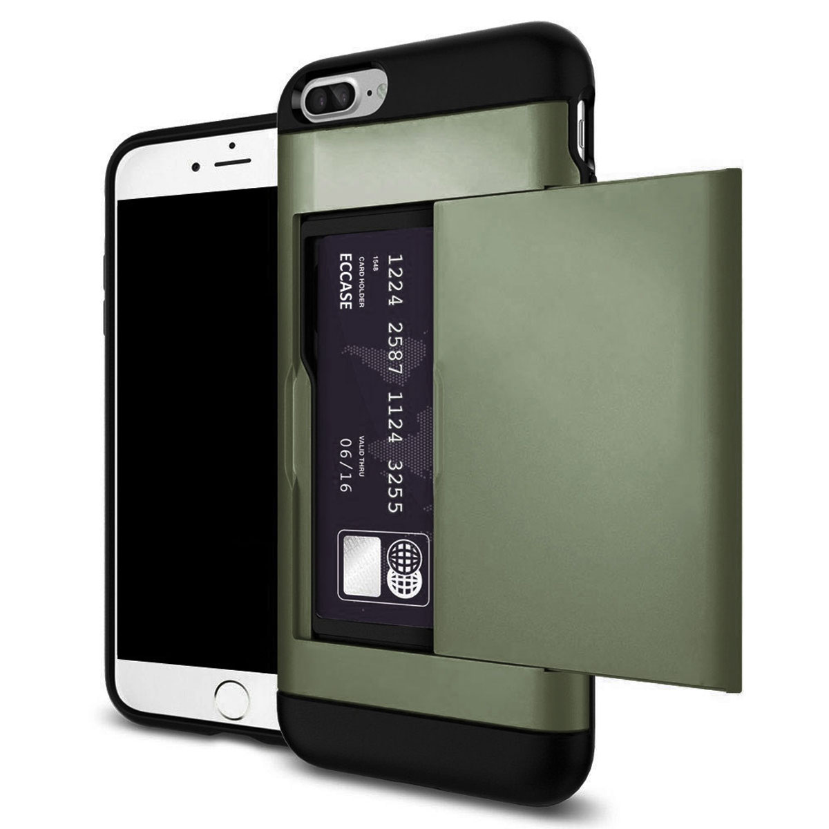 iphone 8 case with card holder