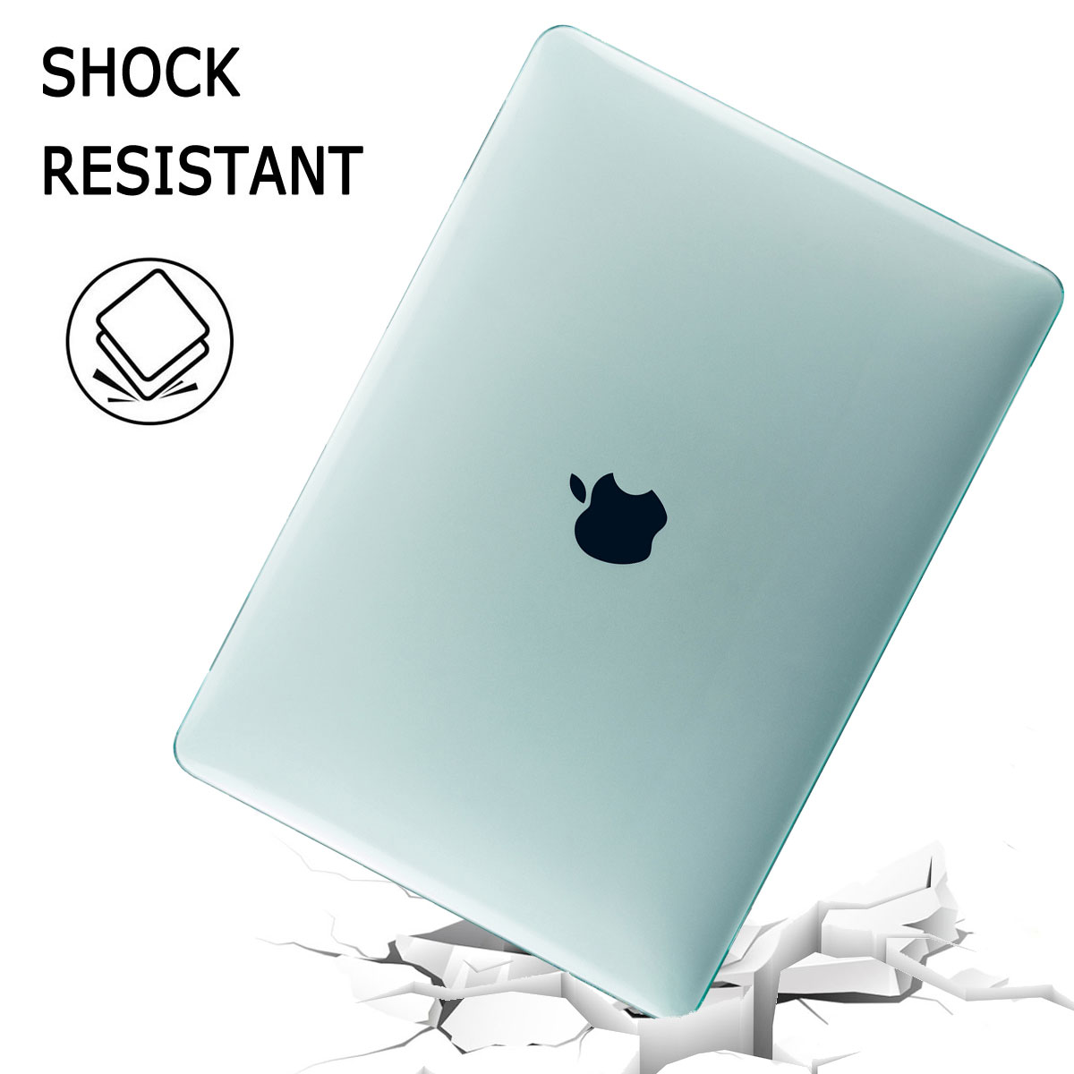Shockproof-Laptop-Hard-Case-Keyboard-Cover-For-Macbook-Air-13-034-Inch-2018-A1932 thumbnail 26