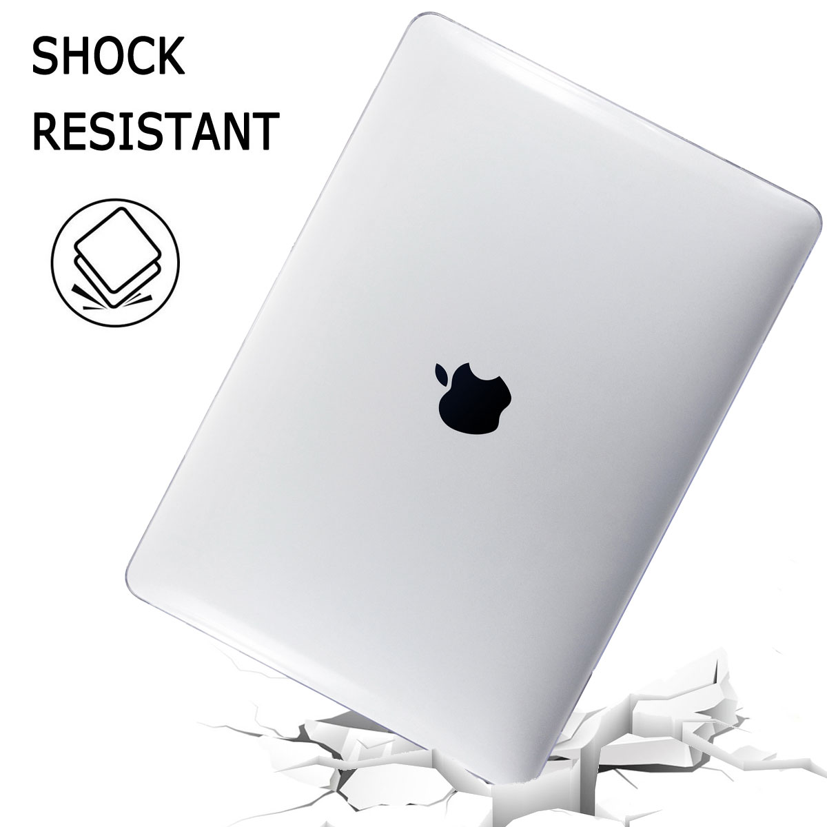 Shockproof-Laptop-Hard-Case-Keyboard-Cover-For-Macbook-Air-13-034-Inch-2018-A1932 thumbnail 47
