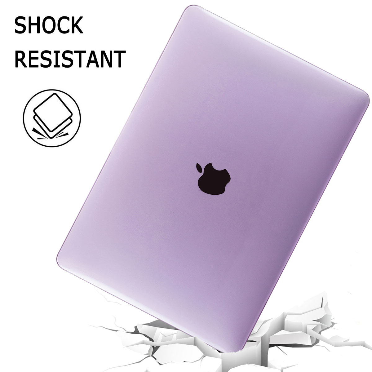 Shockproof-Laptop-Hard-Case-Keyboard-Cover-For-Macbook-Air-13-034-Inch-2018-A1932 thumbnail 54