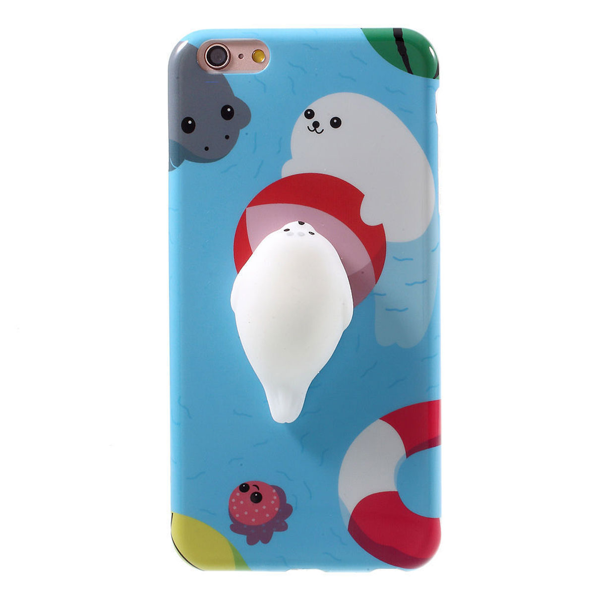 Squishy Cat Iphone X Case : Soft Silicone 3D Squishy Kitty Cat Pattern Cover For Apple iPhone 6 6s 7 Plus+ eBay