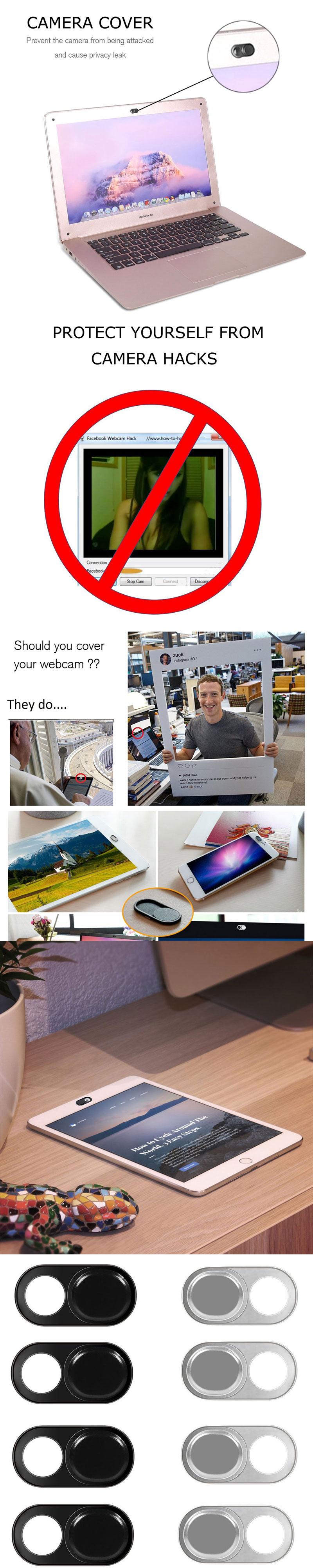 1//2//5//10Pcs Webcam Cover Slider Camera Shield fr Laptop Pad Tablet Phone Privacy