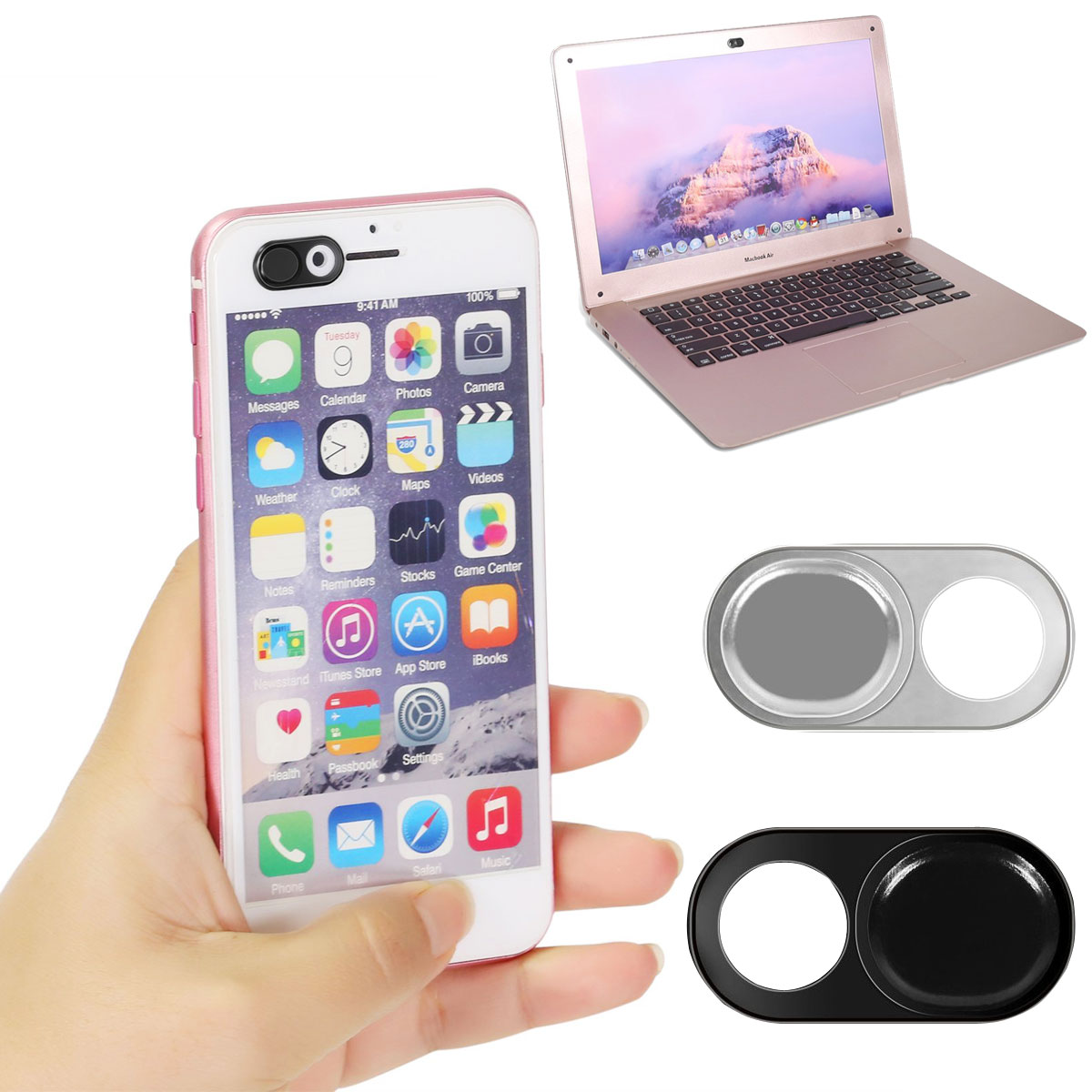 1//3Pc Webcam Cover Slider Camera Shield Privacy For Laptop Phone Protect Sticker
