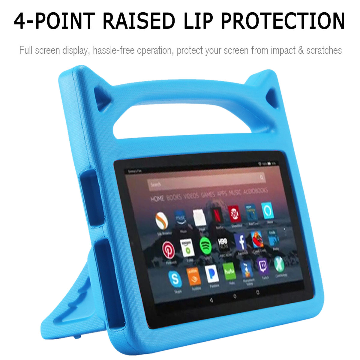 Details about Tablet Kids Shockproof Cute Case Cover For Amazon Kindle Fire  HD 8 2018 8th Gen