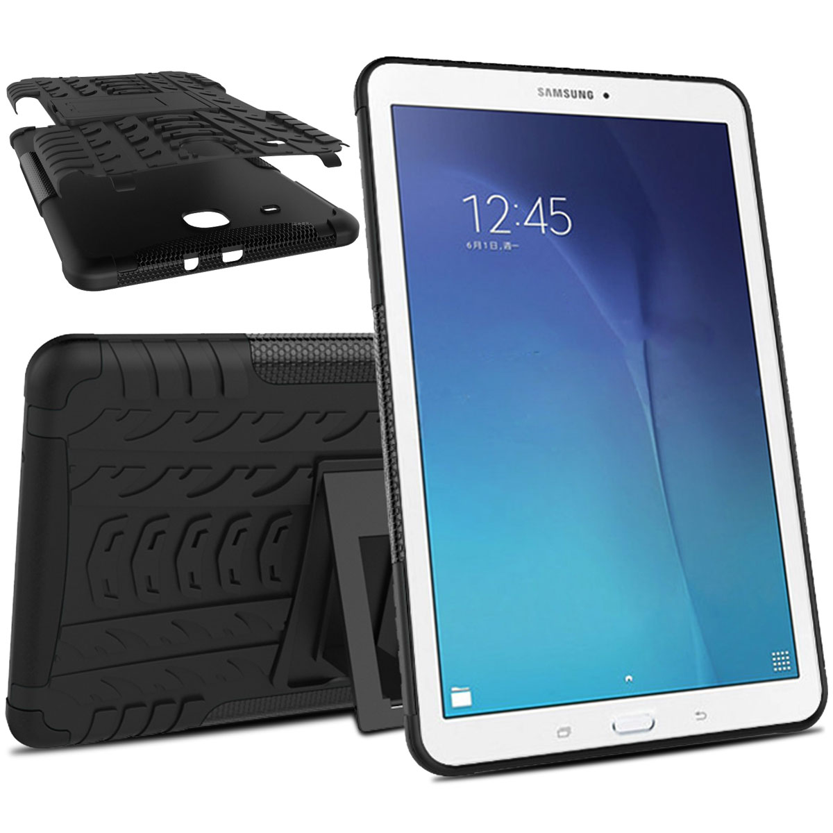 for samsung galaxy tab 3 e lite 7 0 sm t110 t113 armor box case stand tablet ebay. Black Bedroom Furniture Sets. Home Design Ideas