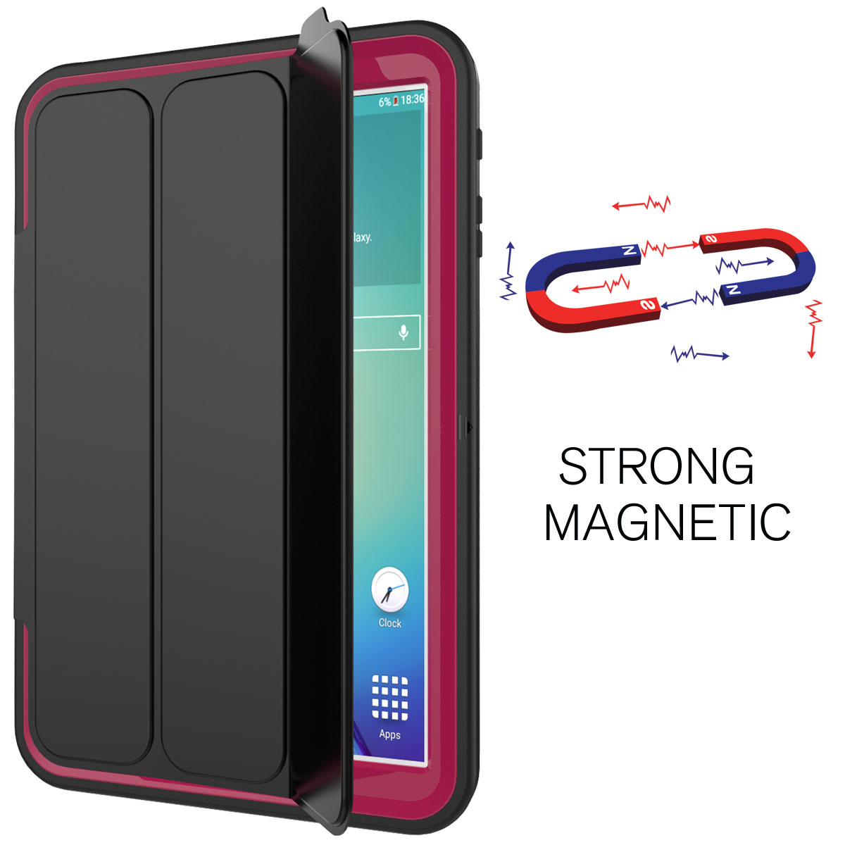 smart shockproof stand hard case screen protector for samsung galaxy tab s2 8 0 ebay. Black Bedroom Furniture Sets. Home Design Ideas