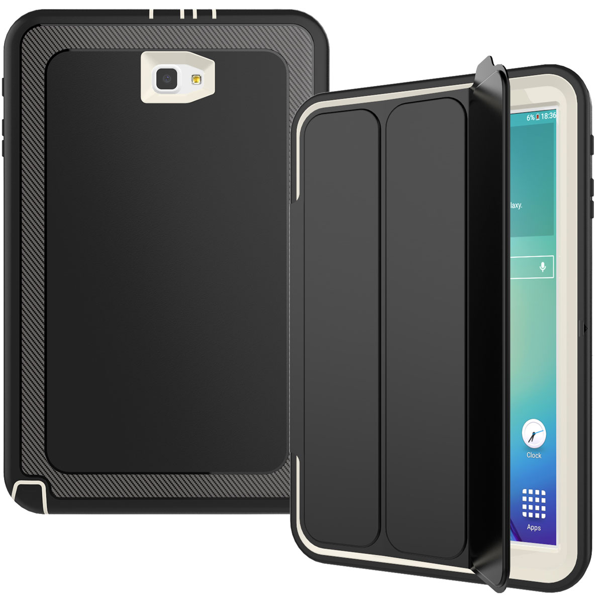 smart shockproof stand hard case screen protector for. Black Bedroom Furniture Sets. Home Design Ideas