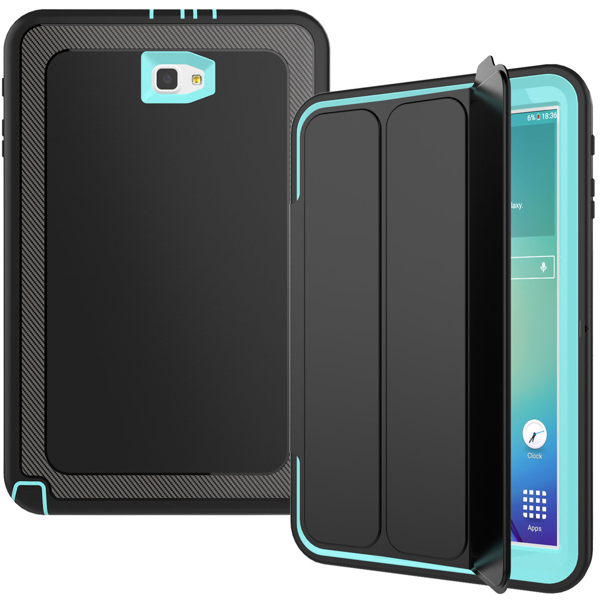 heavy duty shockproof smart cover case for samsung galaxy. Black Bedroom Furniture Sets. Home Design Ideas