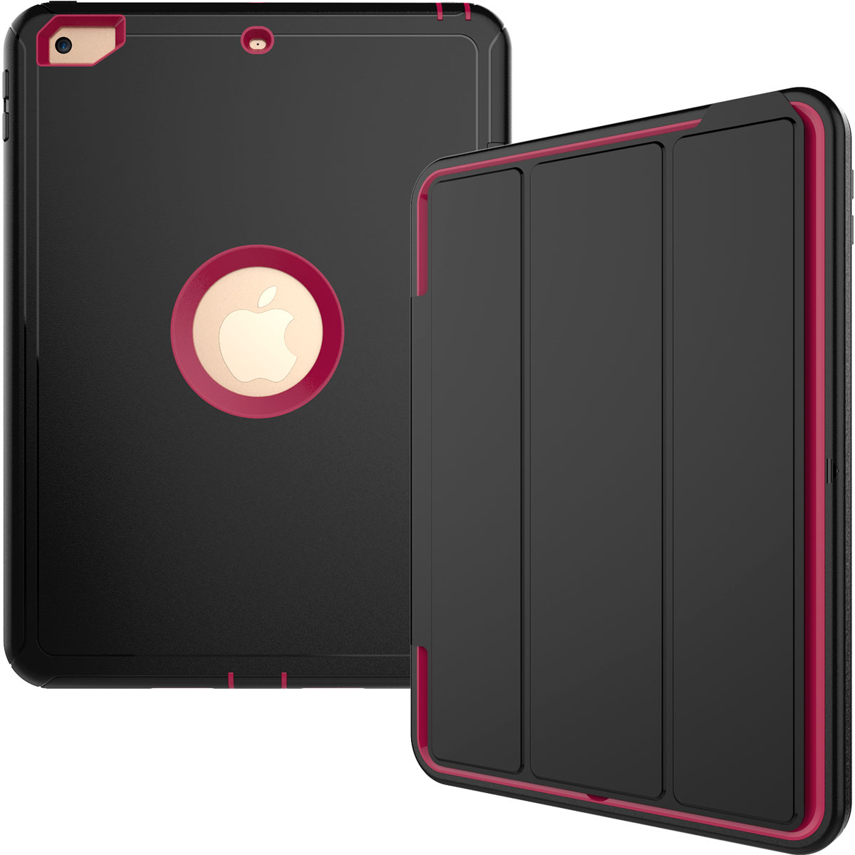 Screen Protector Heavy Rugged Smart Case For Ipad