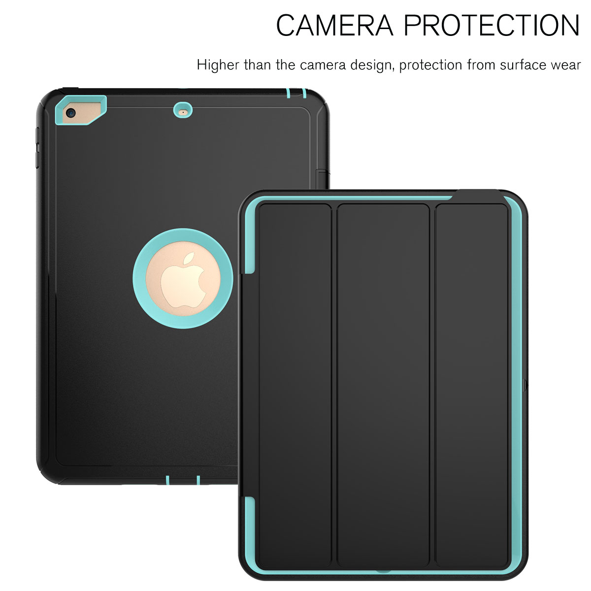Hybrid-Shockproof-Screen-Protector-Case-Cover-For-Apple-iPad-9-7-Mini-Air-2-Pro
