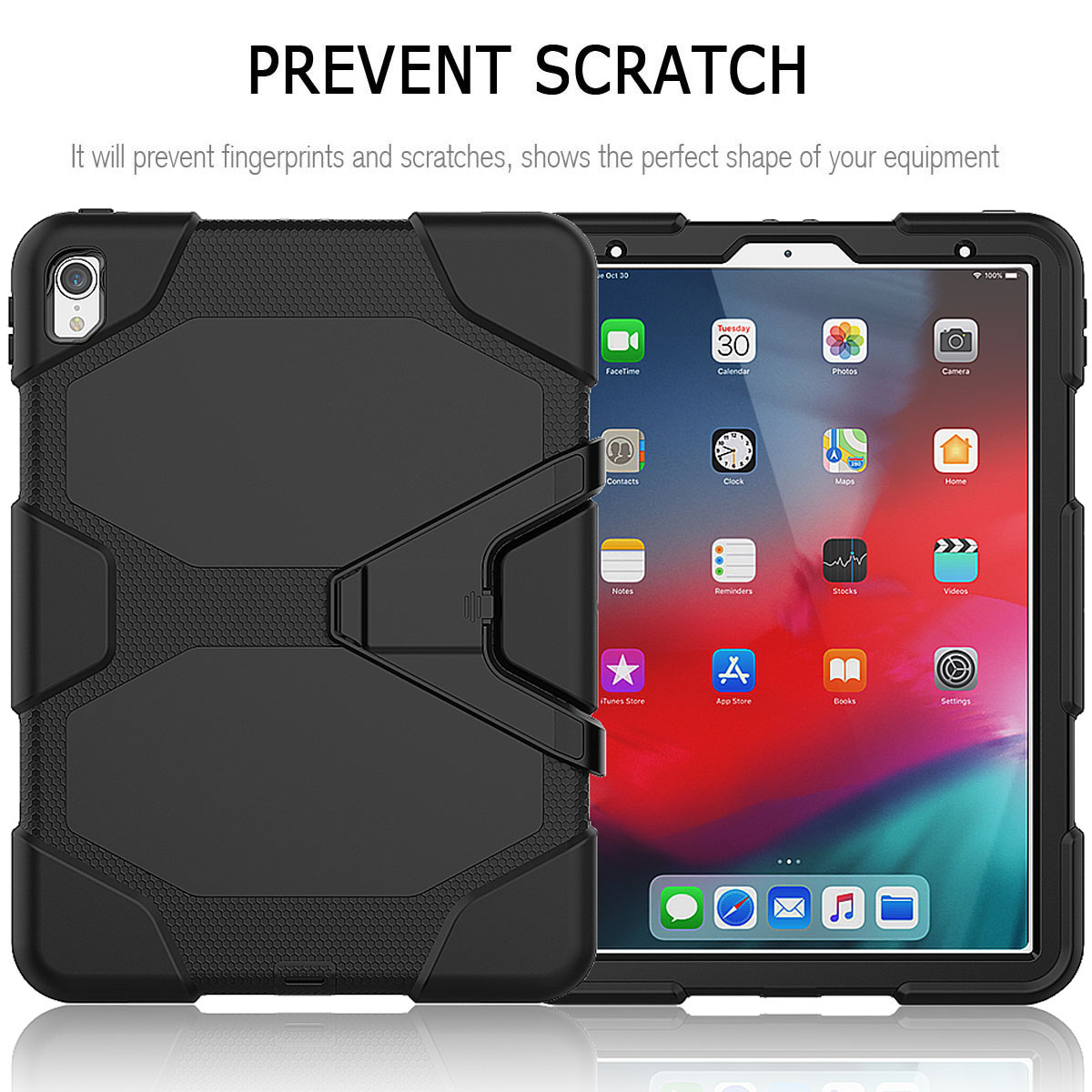 For-Apple-iPad-Pro-11-034-Inch-2018-with-Screen-Protector-Shockproof-Hybrid-Case thumbnail 18