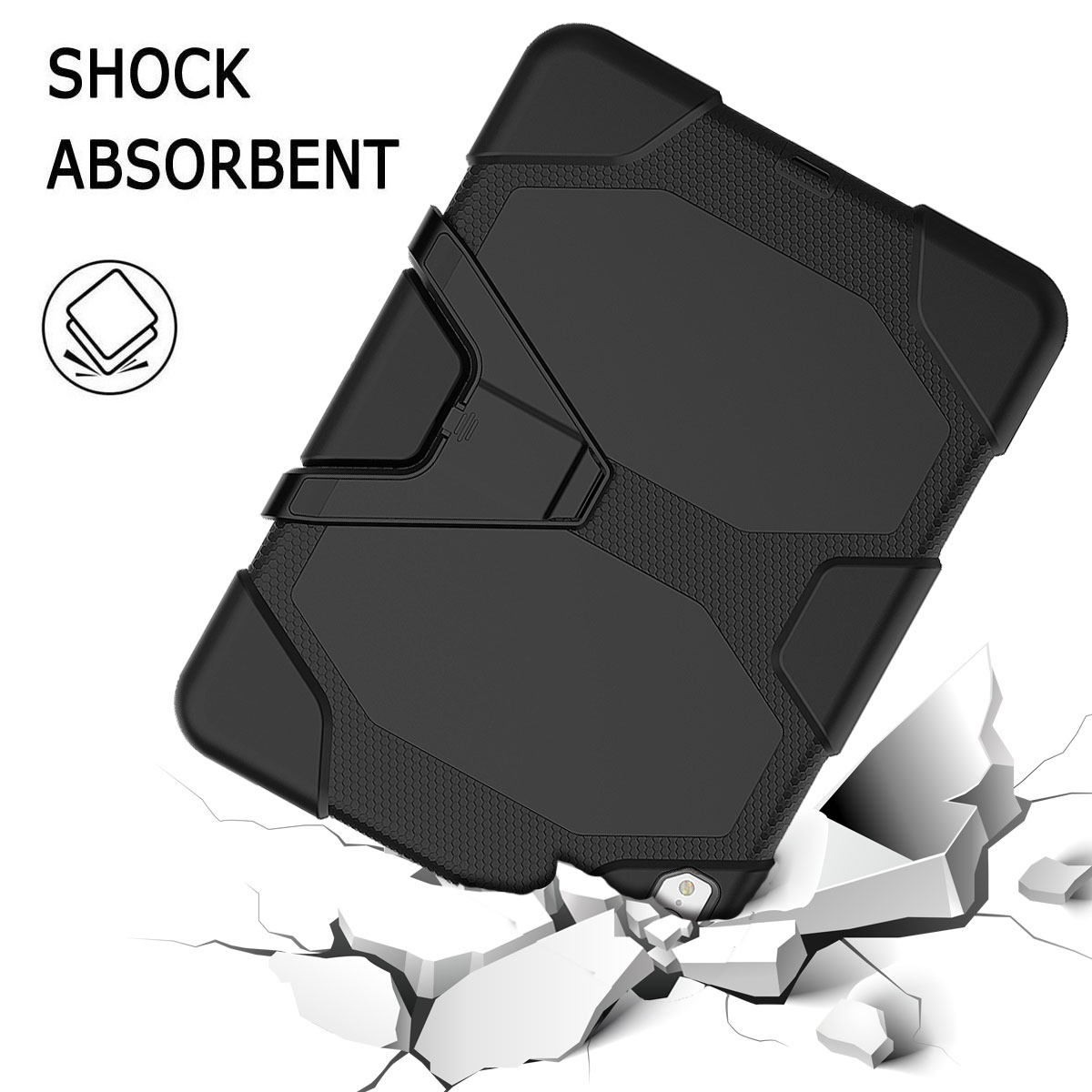 For-Apple-iPad-Pro-11-034-Inch-2018-with-Screen-Protector-Shockproof-Hybrid-Case thumbnail 19