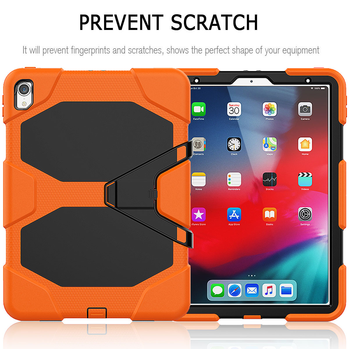 For-Apple-iPad-Pro-11-034-Inch-2018-with-Screen-Protector-Shockproof-Hybrid-Case thumbnail 25