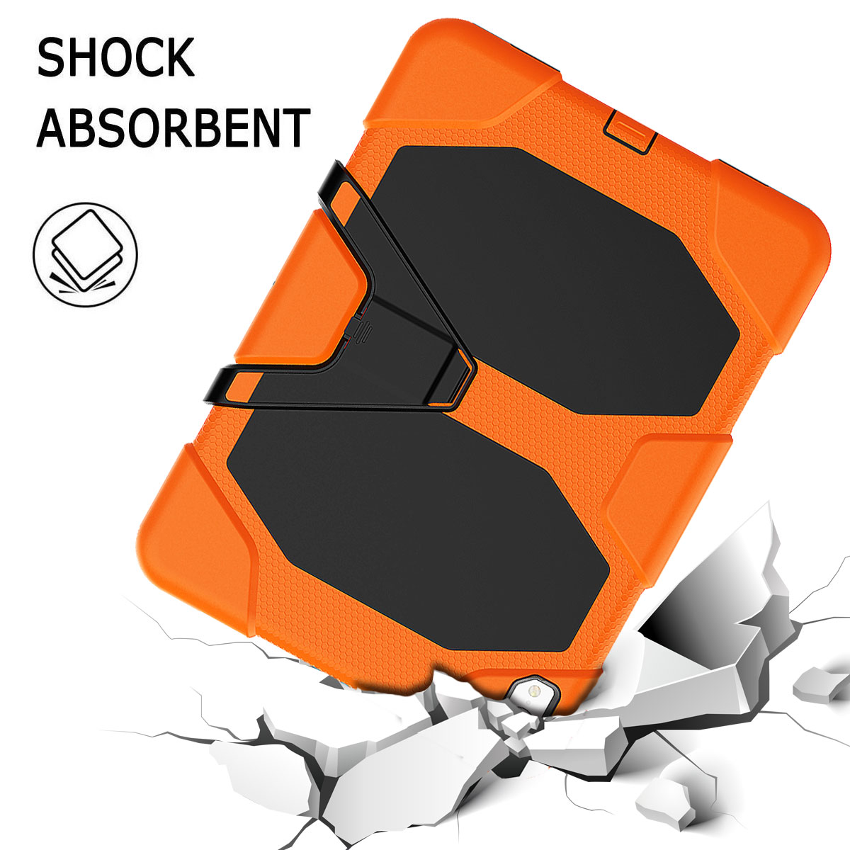 For-Apple-iPad-Pro-11-034-Inch-2018-with-Screen-Protector-Shockproof-Hybrid-Case thumbnail 26