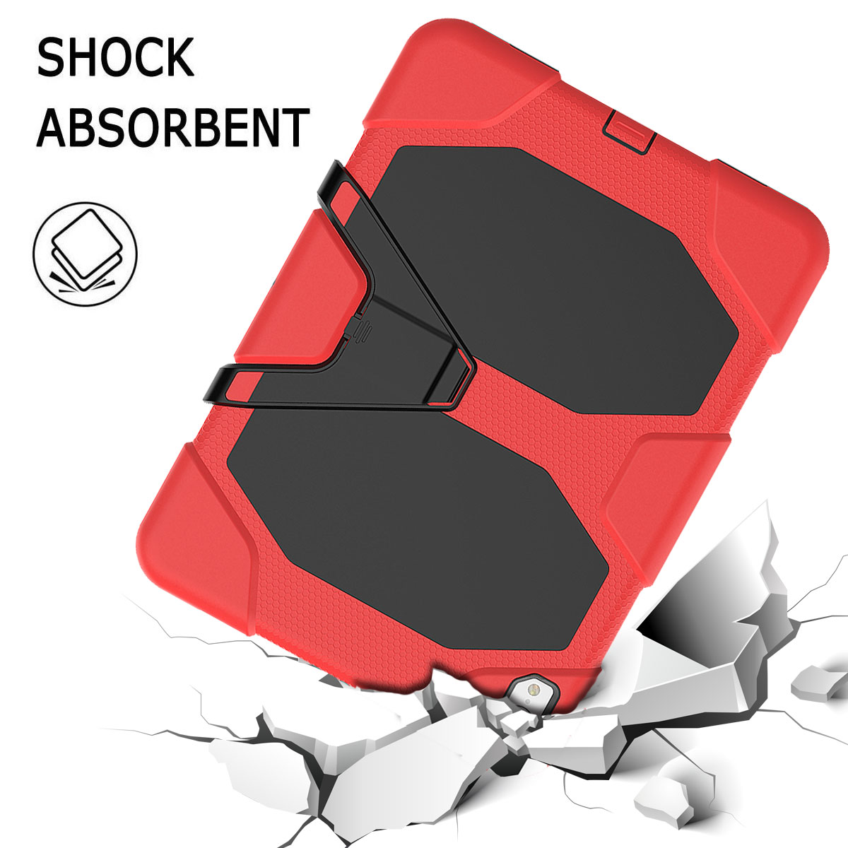 For-Apple-iPad-Pro-11-034-Inch-2018-with-Screen-Protector-Shockproof-Hybrid-Case thumbnail 33