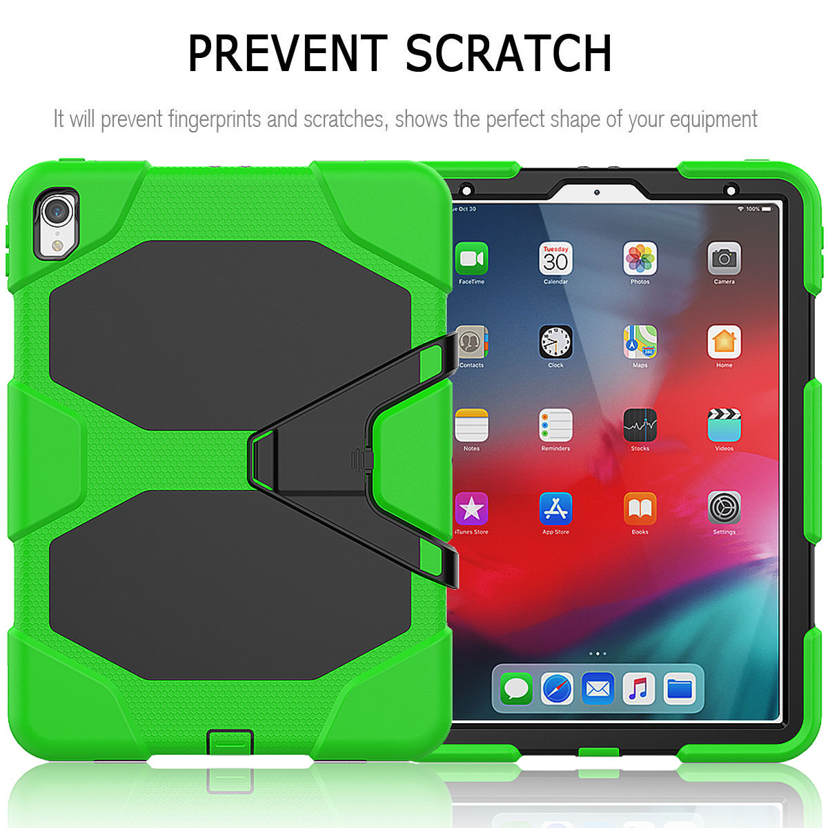For-Apple-iPad-Pro-11-034-Inch-2018-with-Screen-Protector-Shockproof-Hybrid-Case thumbnail 46