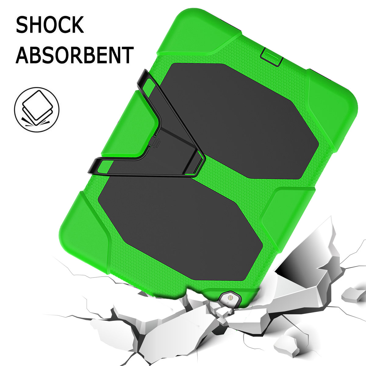 For-Apple-iPad-Pro-11-034-Inch-2018-with-Screen-Protector-Shockproof-Hybrid-Case thumbnail 47