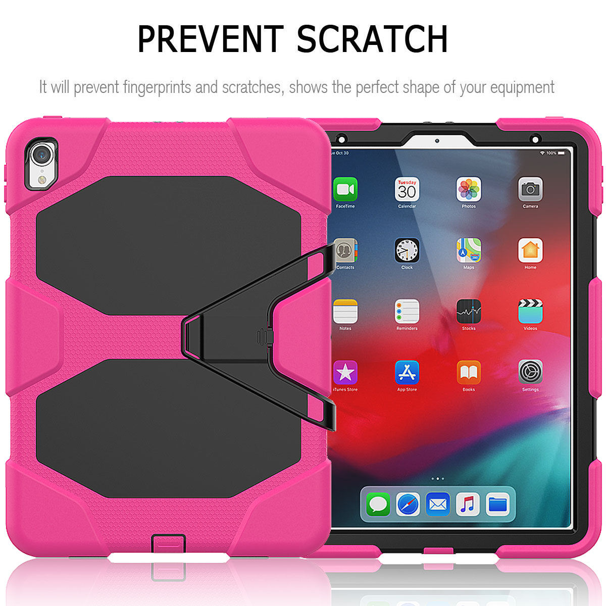 For-Apple-iPad-Pro-11-034-Inch-2018-with-Screen-Protector-Shockproof-Hybrid-Case thumbnail 53
