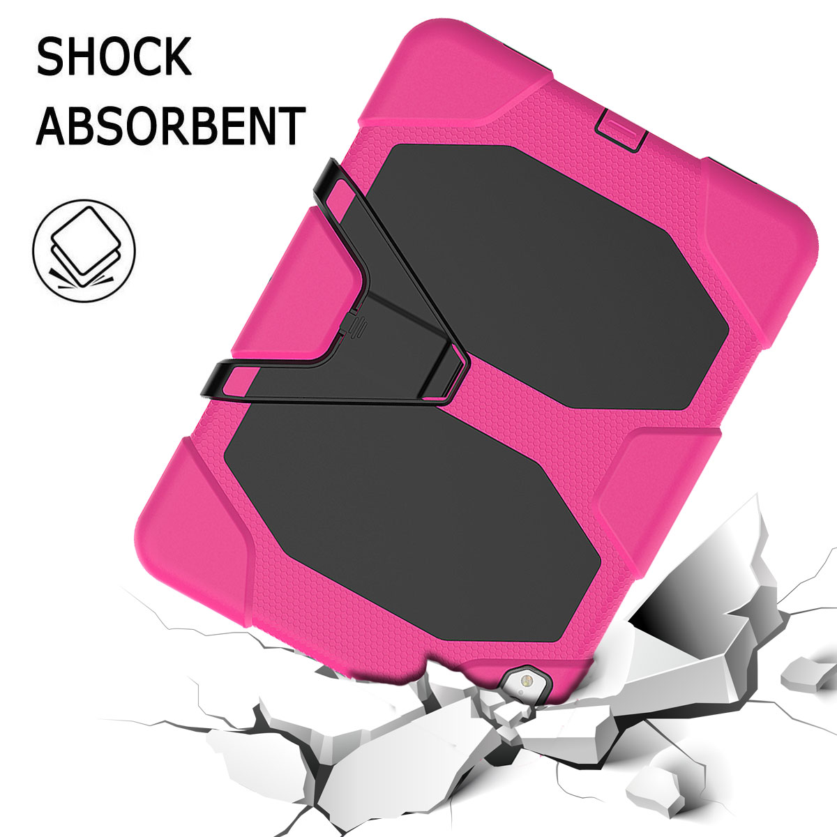 For-Apple-iPad-Pro-11-034-Inch-2018-with-Screen-Protector-Shockproof-Hybrid-Case thumbnail 54