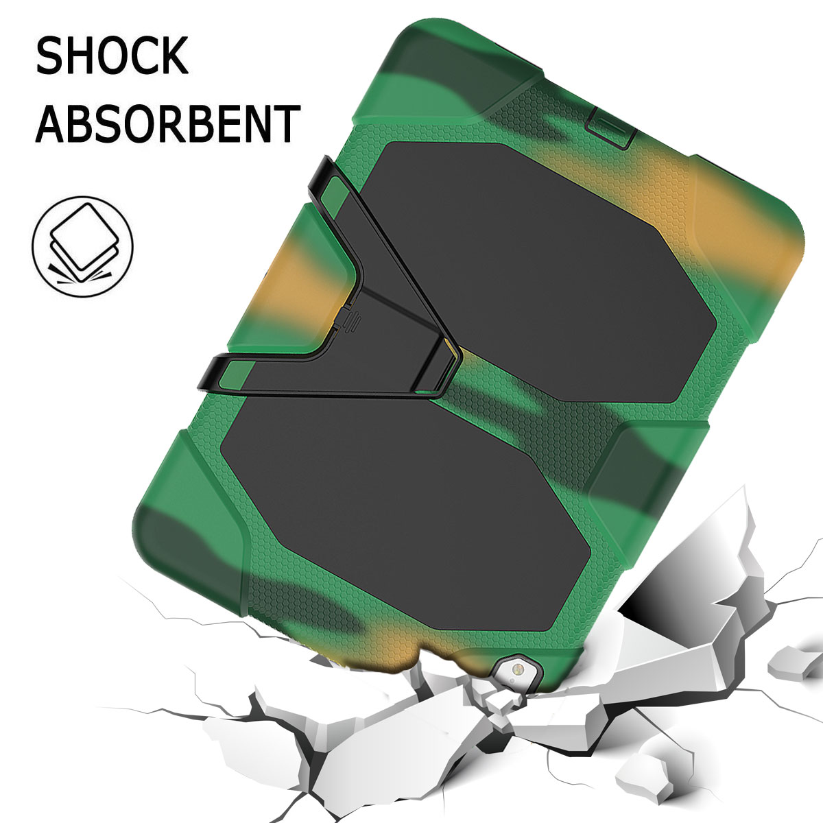 For-Apple-iPad-Pro-11-034-Inch-2018-with-Screen-Protector-Shockproof-Hybrid-Case thumbnail 61