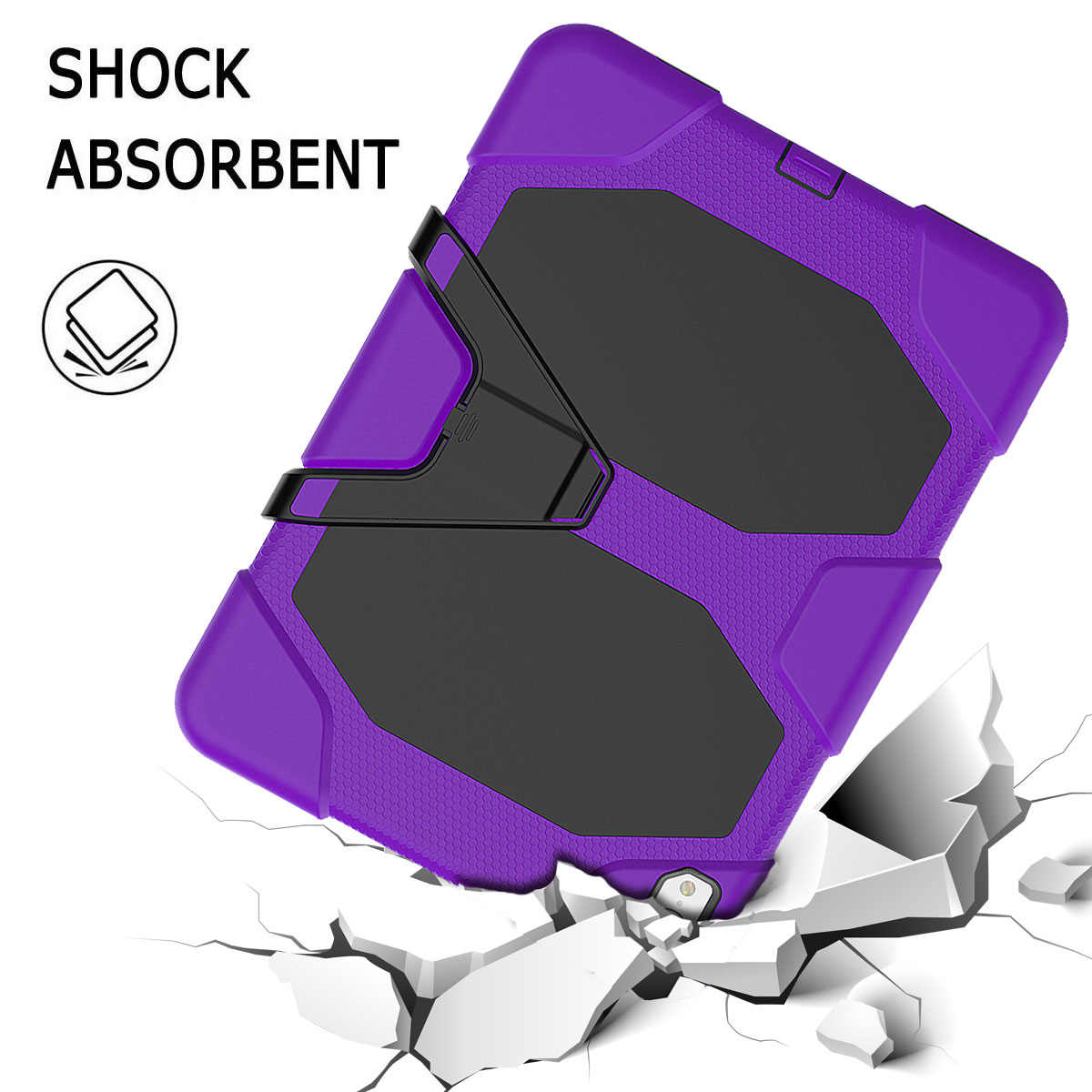 For-Apple-iPad-Pro-11-034-Inch-2018-with-Screen-Protector-Shockproof-Hybrid-Case thumbnail 68