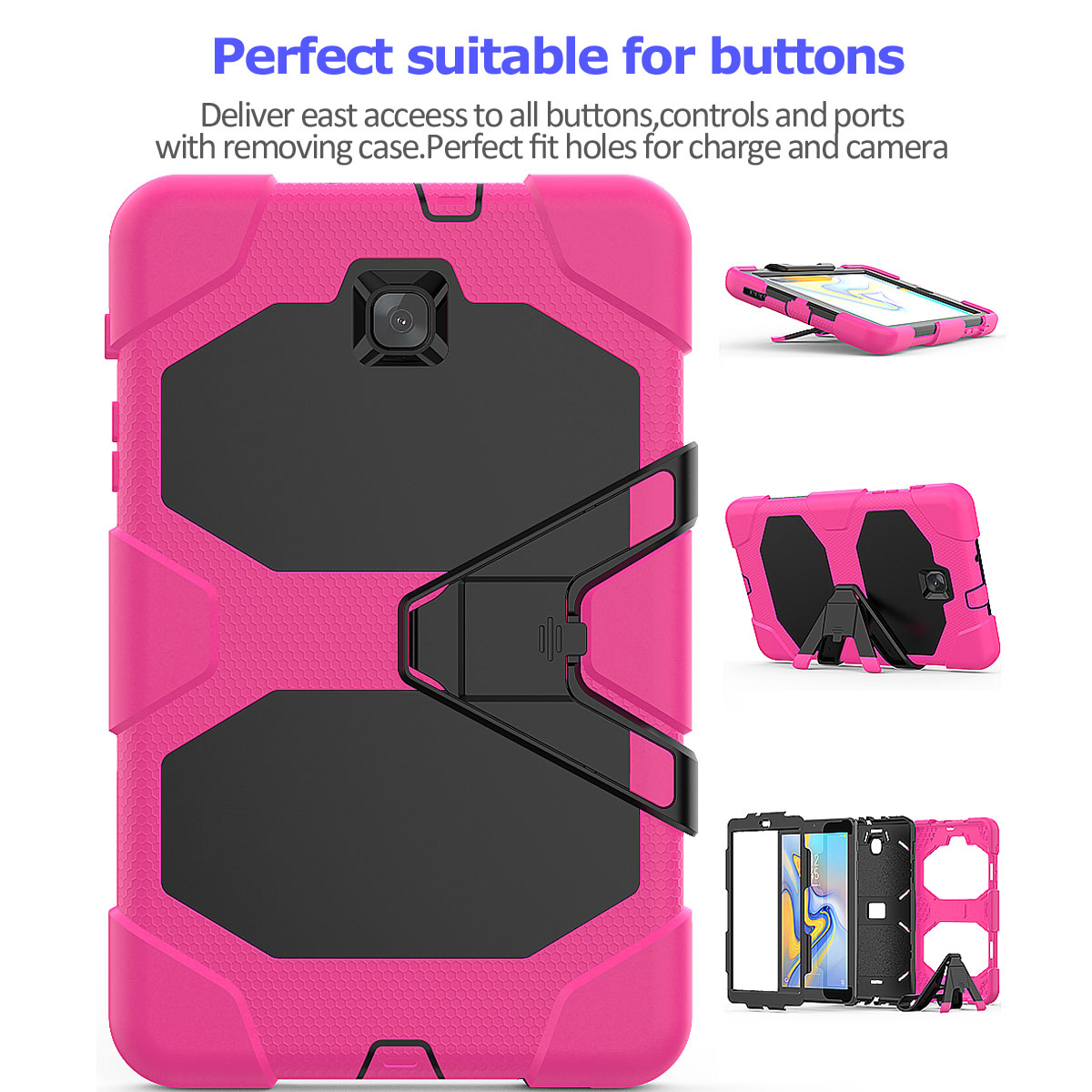 Rugged-Hard-Case-For-Samsung-Galaxy-Tab-A-8-0-2018-SM-T387-with-Screen-Protector thumbnail 18