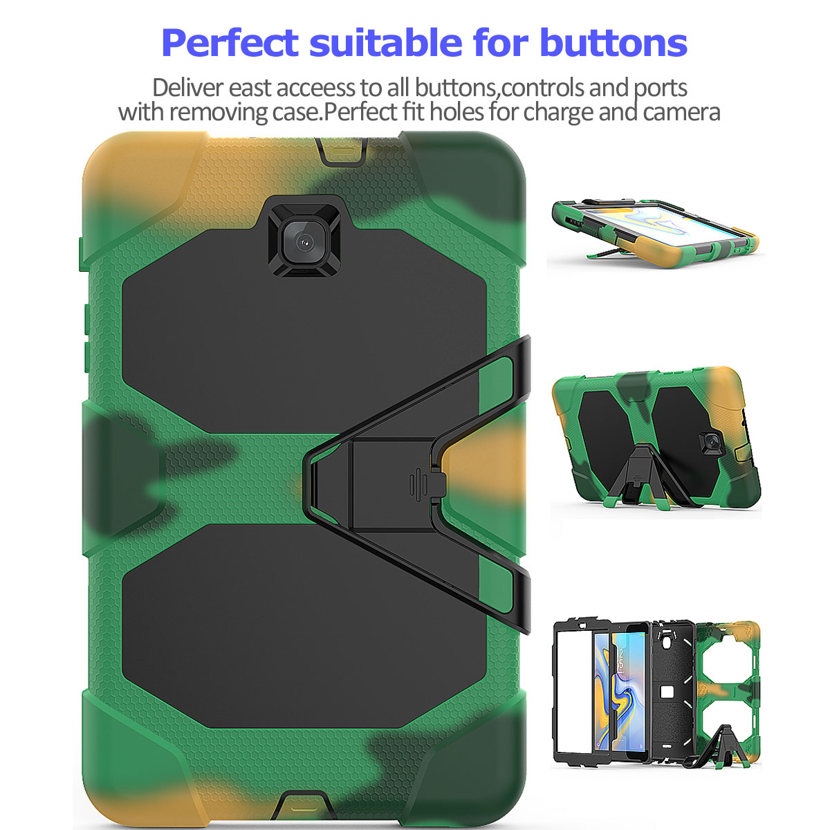 Rugged-Hard-Case-For-Samsung-Galaxy-Tab-A-8-0-2018-SM-T387-with-Screen-Protector thumbnail 25