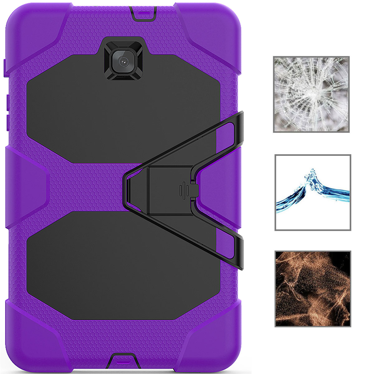 Rugged-Hard-Case-For-Samsung-Galaxy-Tab-A-8-0-2018-SM-T387-with-Screen-Protector thumbnail 31