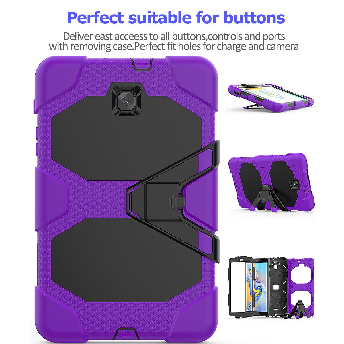 Rugged-Hard-Case-For-Samsung-Galaxy-Tab-A-8-0-2018-SM-T387-with-Screen-Protector thumbnail 32