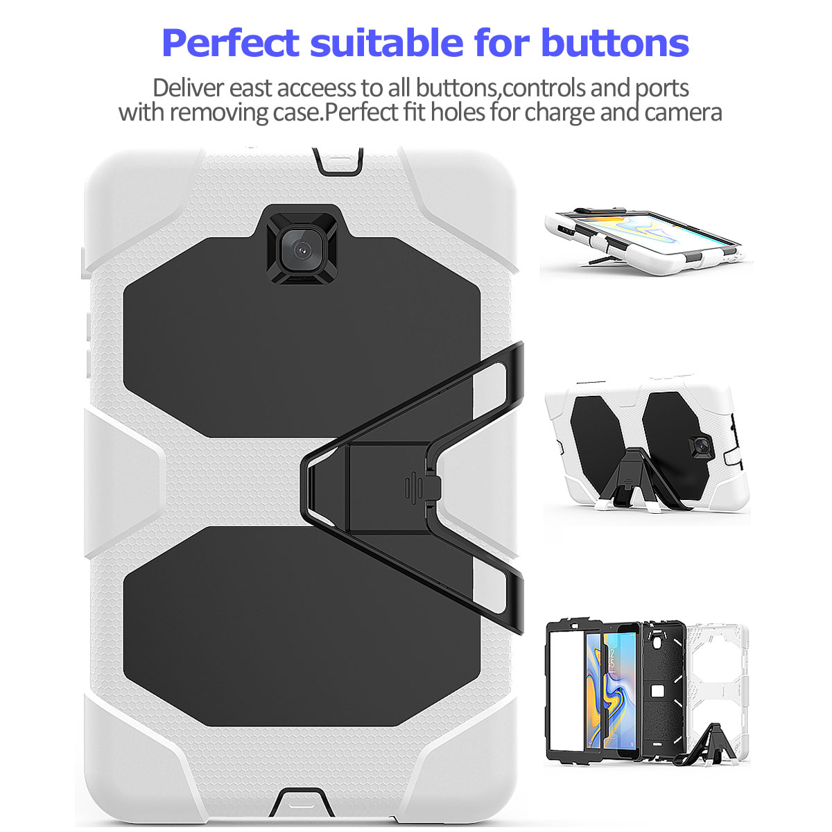 Rugged-Hard-Case-For-Samsung-Galaxy-Tab-A-8-0-2018-SM-T387-with-Screen-Protector thumbnail 39