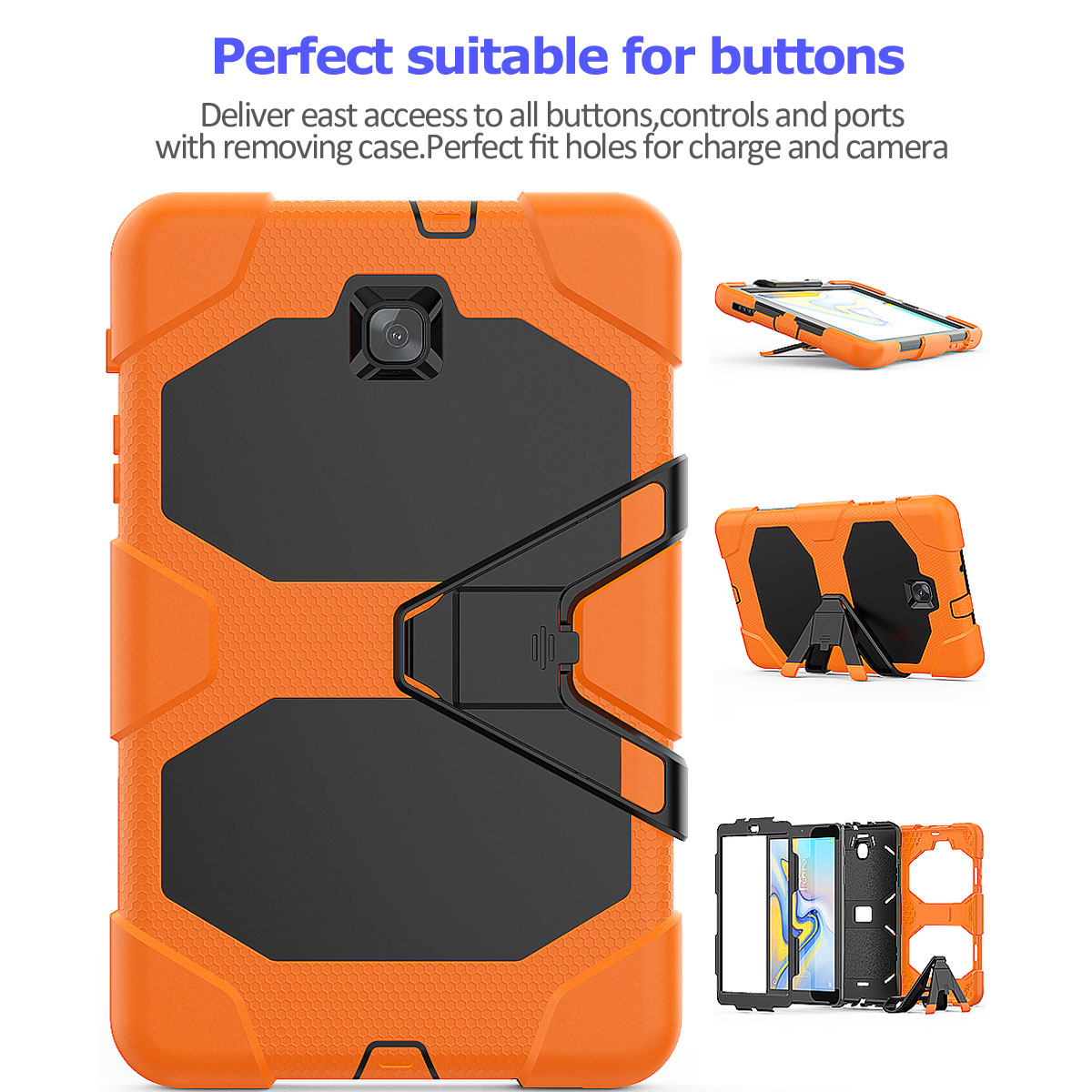 Rugged-Hard-Case-For-Samsung-Galaxy-Tab-A-8-0-2018-SM-T387-with-Screen-Protector thumbnail 46