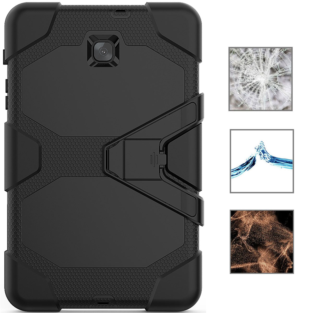 Rugged-Hard-Case-For-Samsung-Galaxy-Tab-A-8-0-2018-SM-T387-with-Screen-Protector thumbnail 59