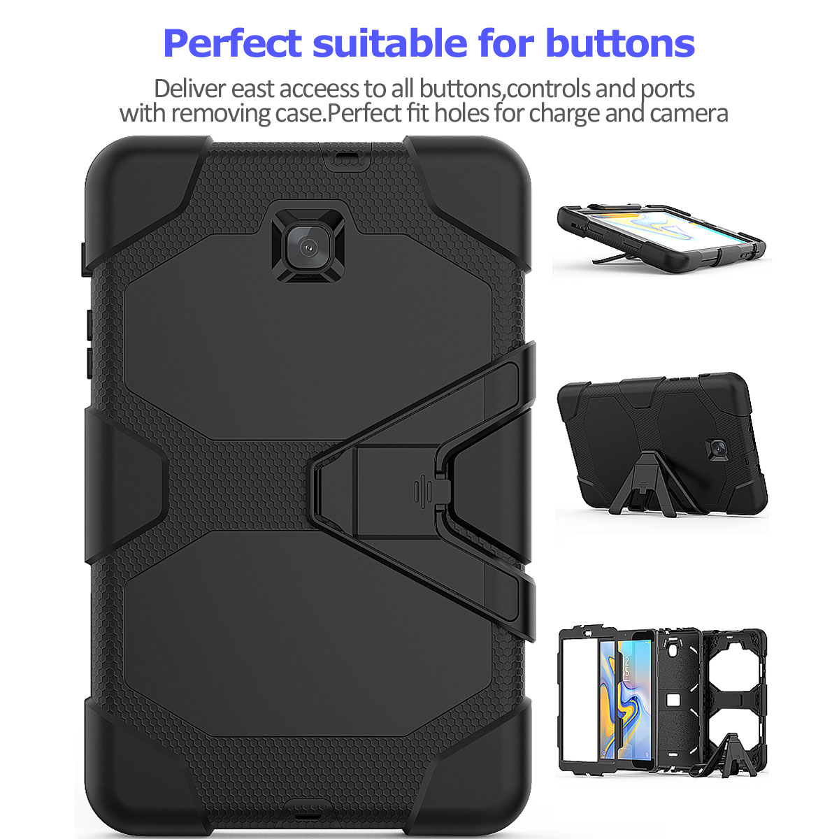 Rugged-Hard-Case-For-Samsung-Galaxy-Tab-A-8-0-2018-SM-T387-with-Screen-Protector thumbnail 60