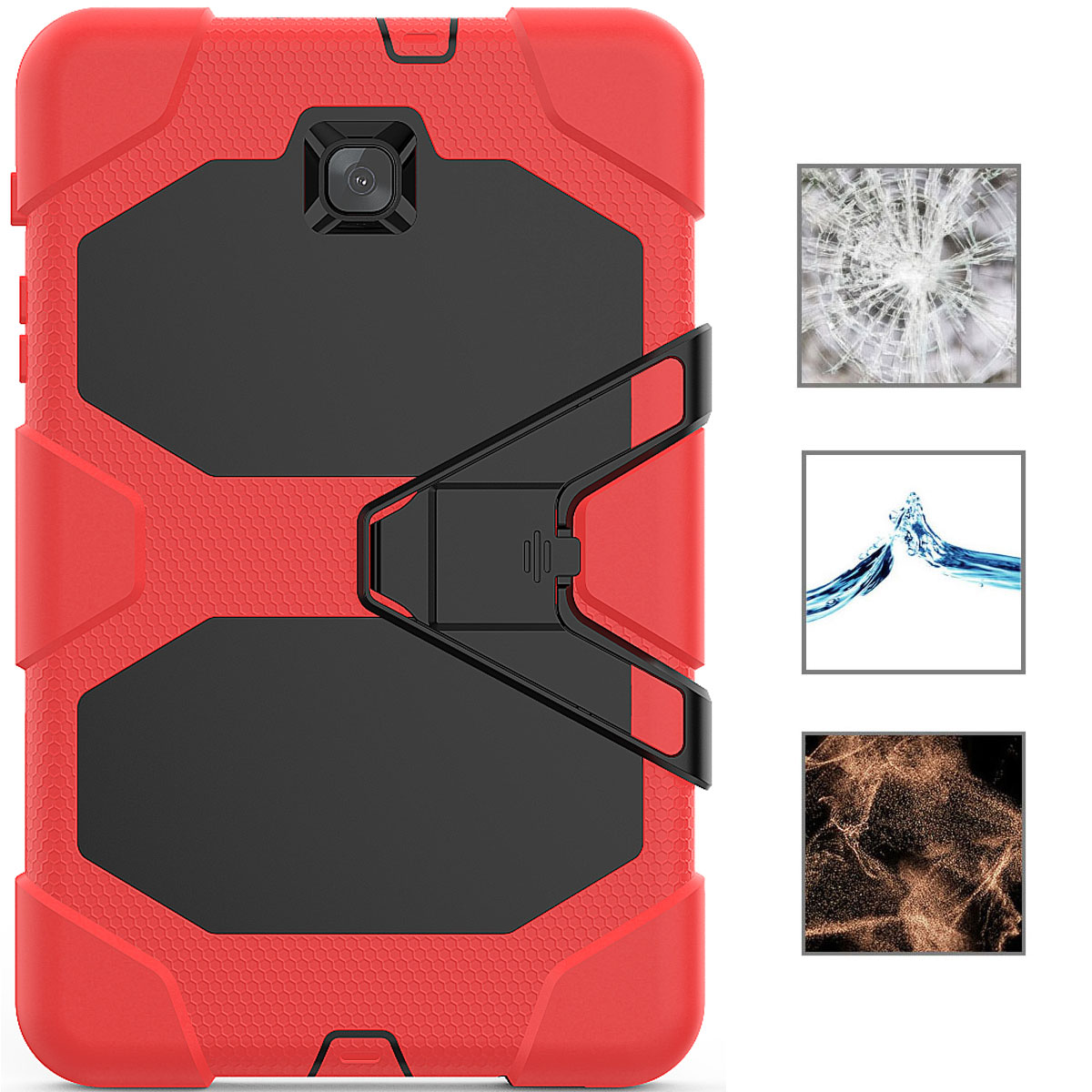 Rugged-Hard-Case-For-Samsung-Galaxy-Tab-A-8-0-2018-SM-T387-with-Screen-Protector thumbnail 66