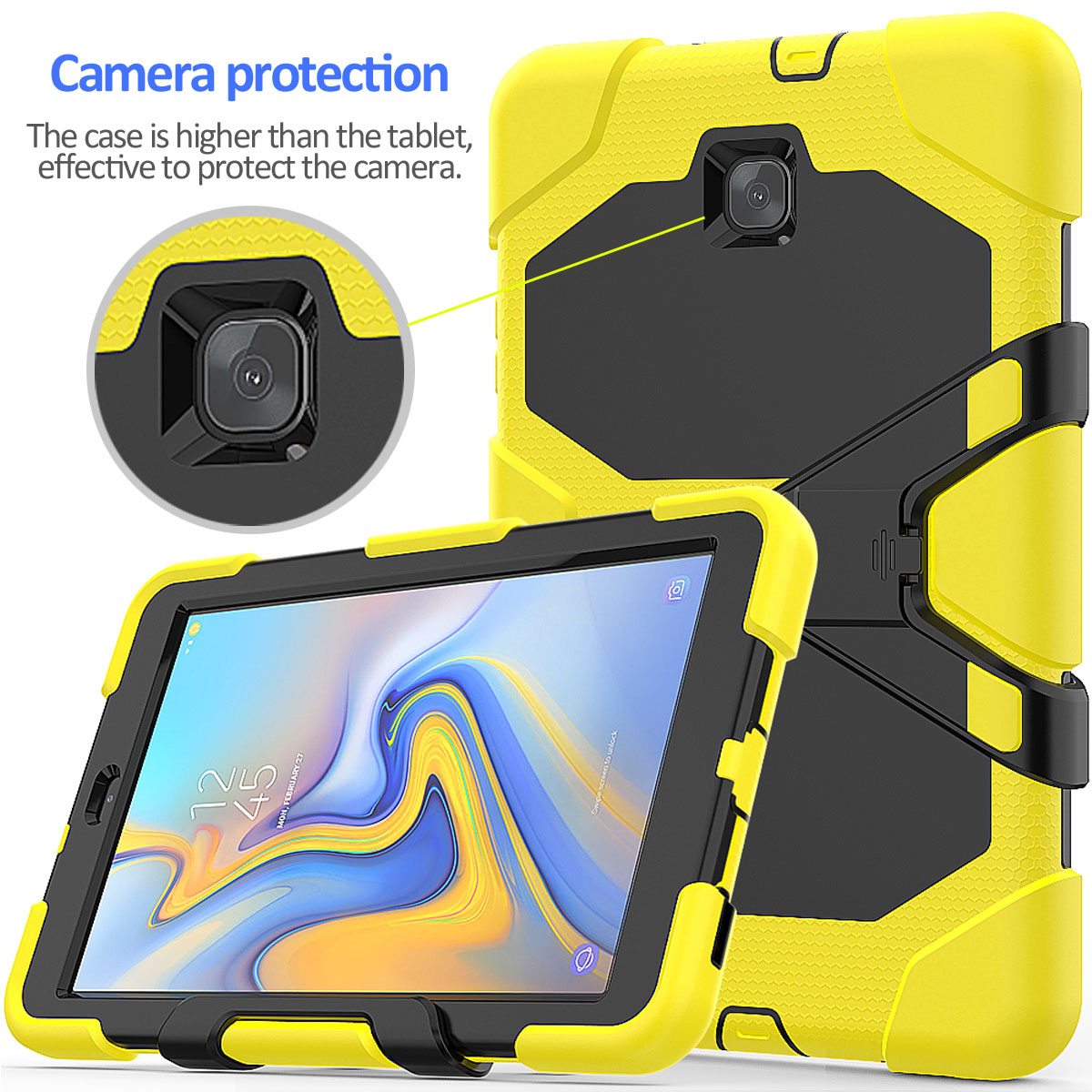 Rugged-Hard-Case-For-Samsung-Galaxy-Tab-A-8-0-2018-SM-T387-with-Screen-Protector thumbnail 72