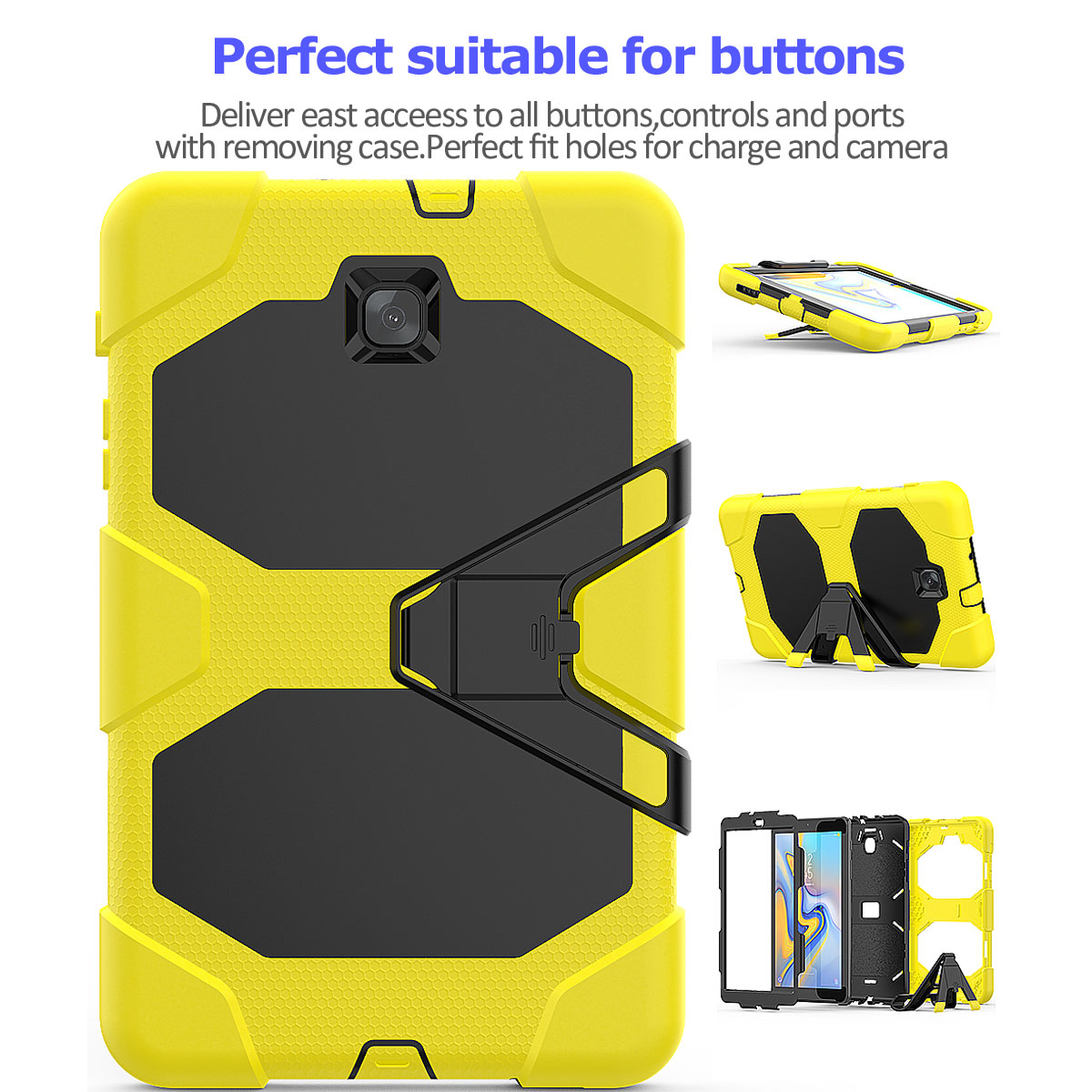Rugged-Hard-Case-For-Samsung-Galaxy-Tab-A-8-0-2018-SM-T387-with-Screen-Protector thumbnail 74