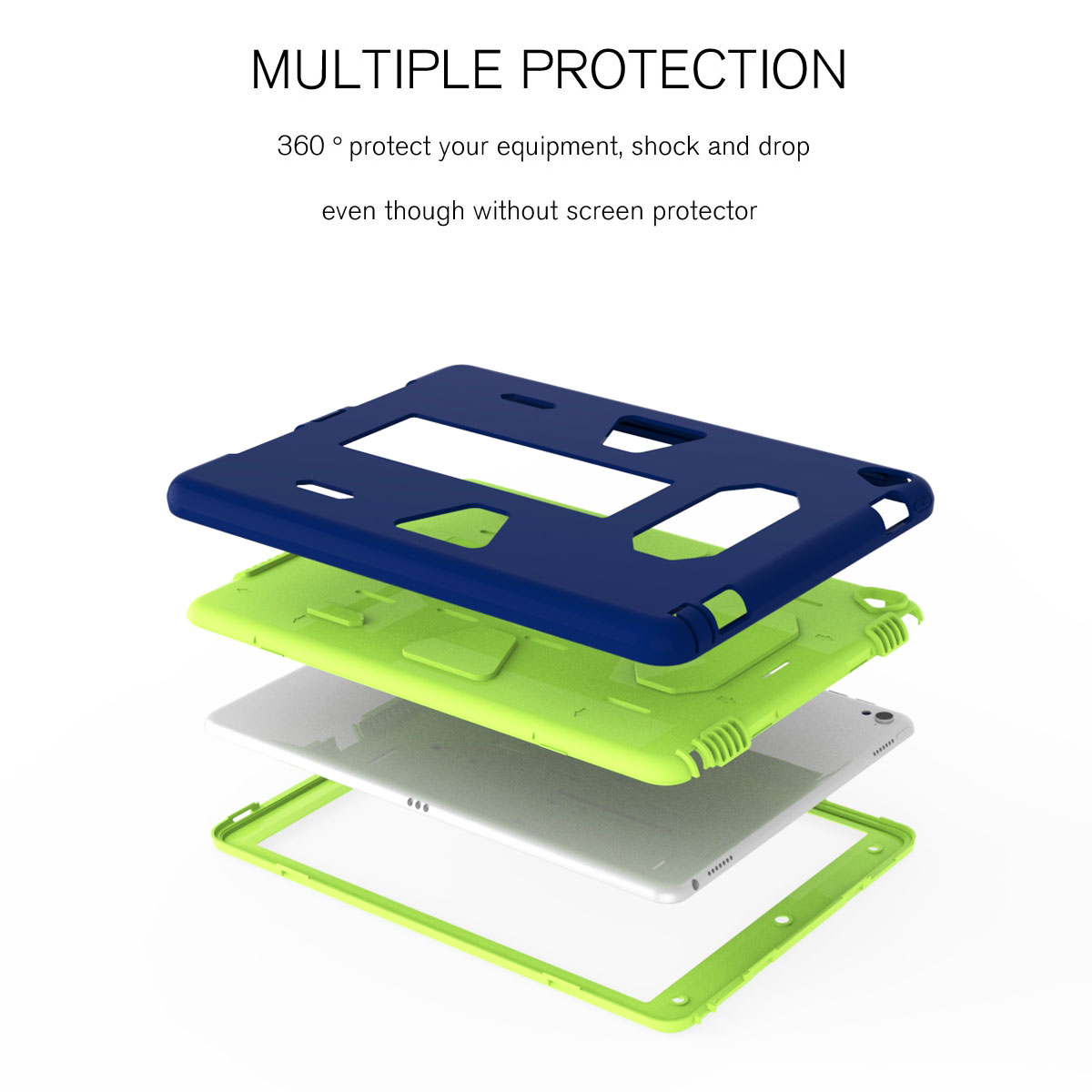 Shockproof-Hybrid-Rubber-Rugged-Case-Cover-For-iPad-9-7-5th-Gen-A1822-A1823-2017 thumbnail 21