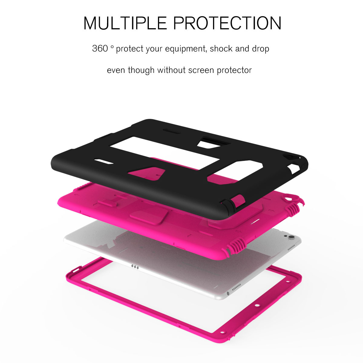 Shockproof-Hybrid-Rubber-Rugged-Case-Cover-For-iPad-9-7-5th-Gen-A1822-A1823-2017 thumbnail 33