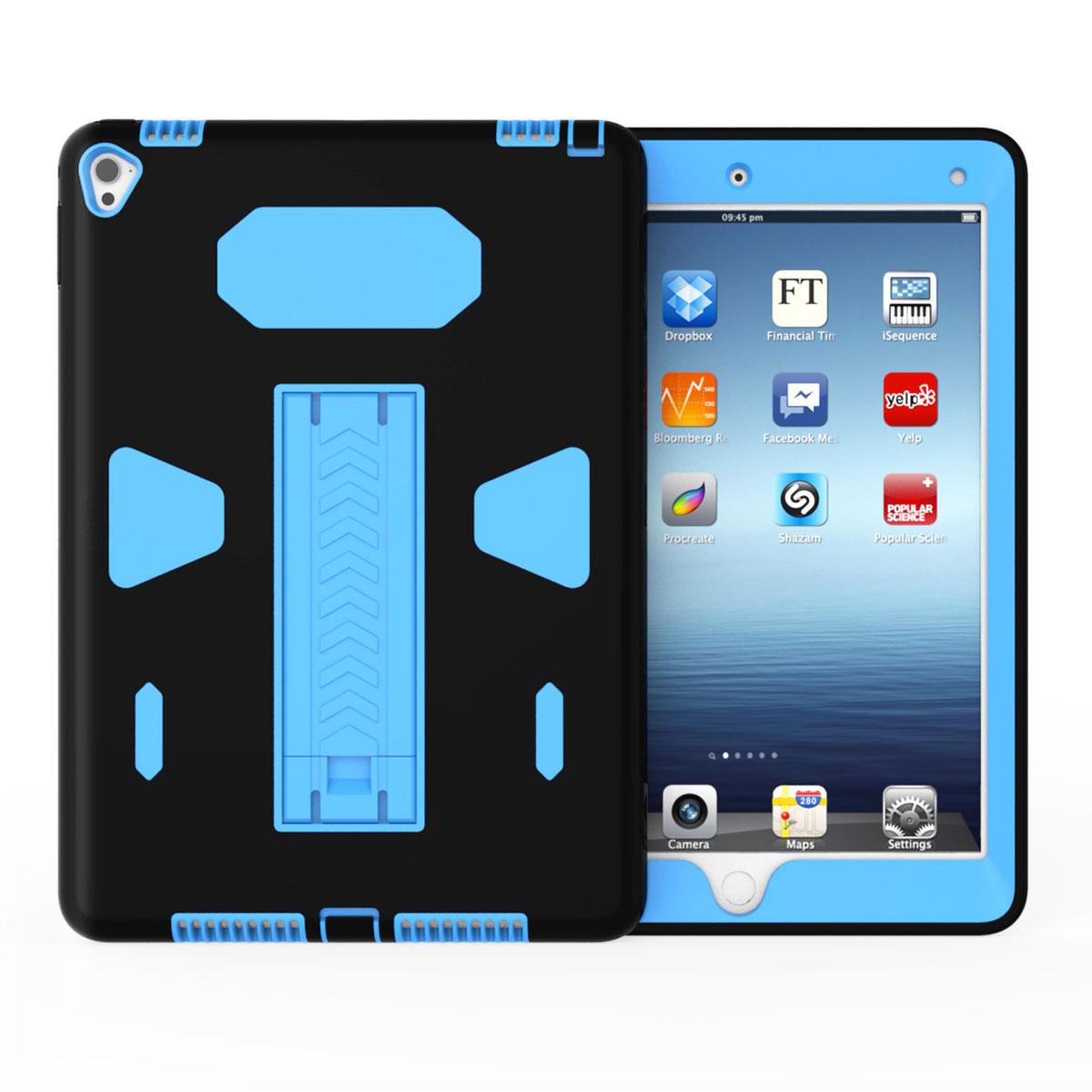 hybrid heavy shockproof rubber stand case cover for apple. Black Bedroom Furniture Sets. Home Design Ideas