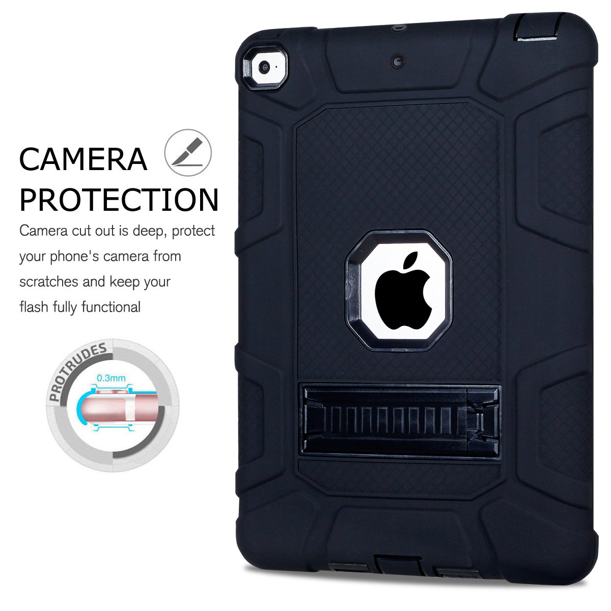 Heavy-Shockproof-Rubber-Stand-Case-Cover-For-Apple-iPad-234-5-Mini-Air-Pro-9-7-034 thumbnail 13