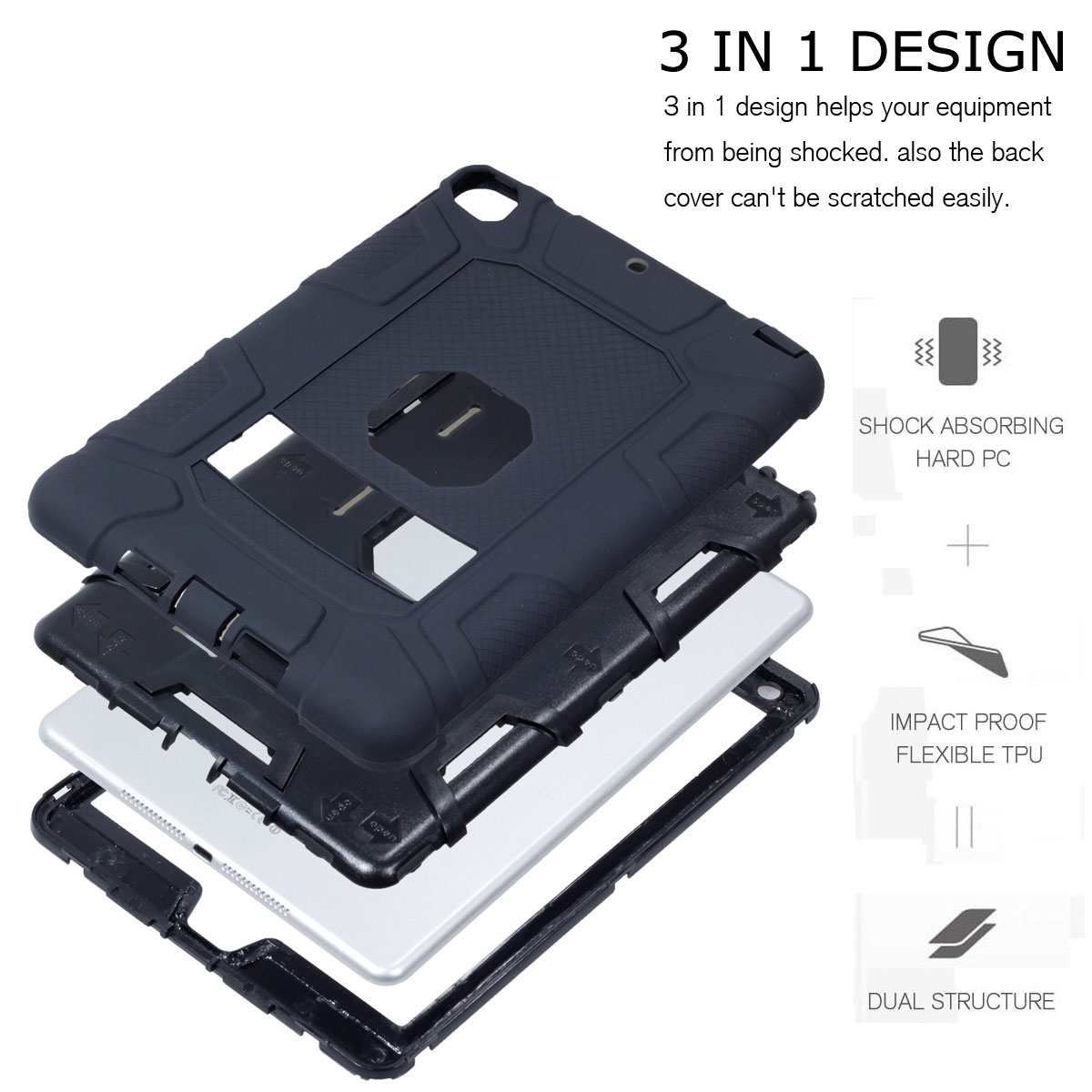 Heavy-Shockproof-Rubber-Stand-Case-Cover-For-Apple-iPad-234-5-Mini-Air-Pro-9-7-034 thumbnail 16