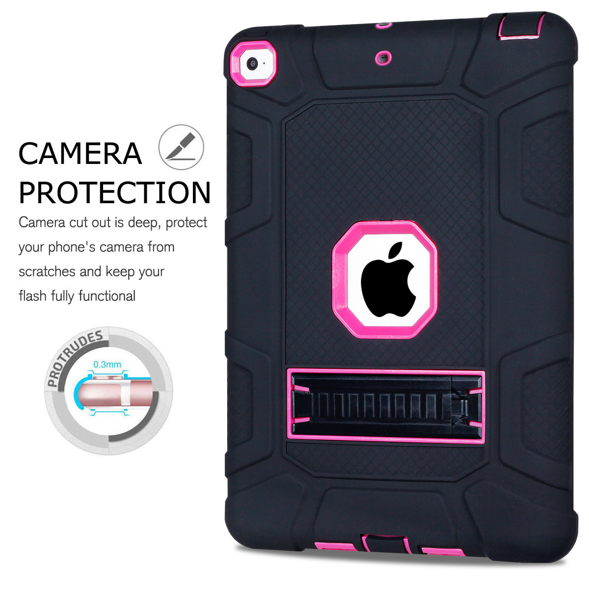 Heavy-Shockproof-Rubber-Stand-Case-Cover-For-Apple-iPad-234-5-Mini-Air-Pro-9-7-034 thumbnail 27