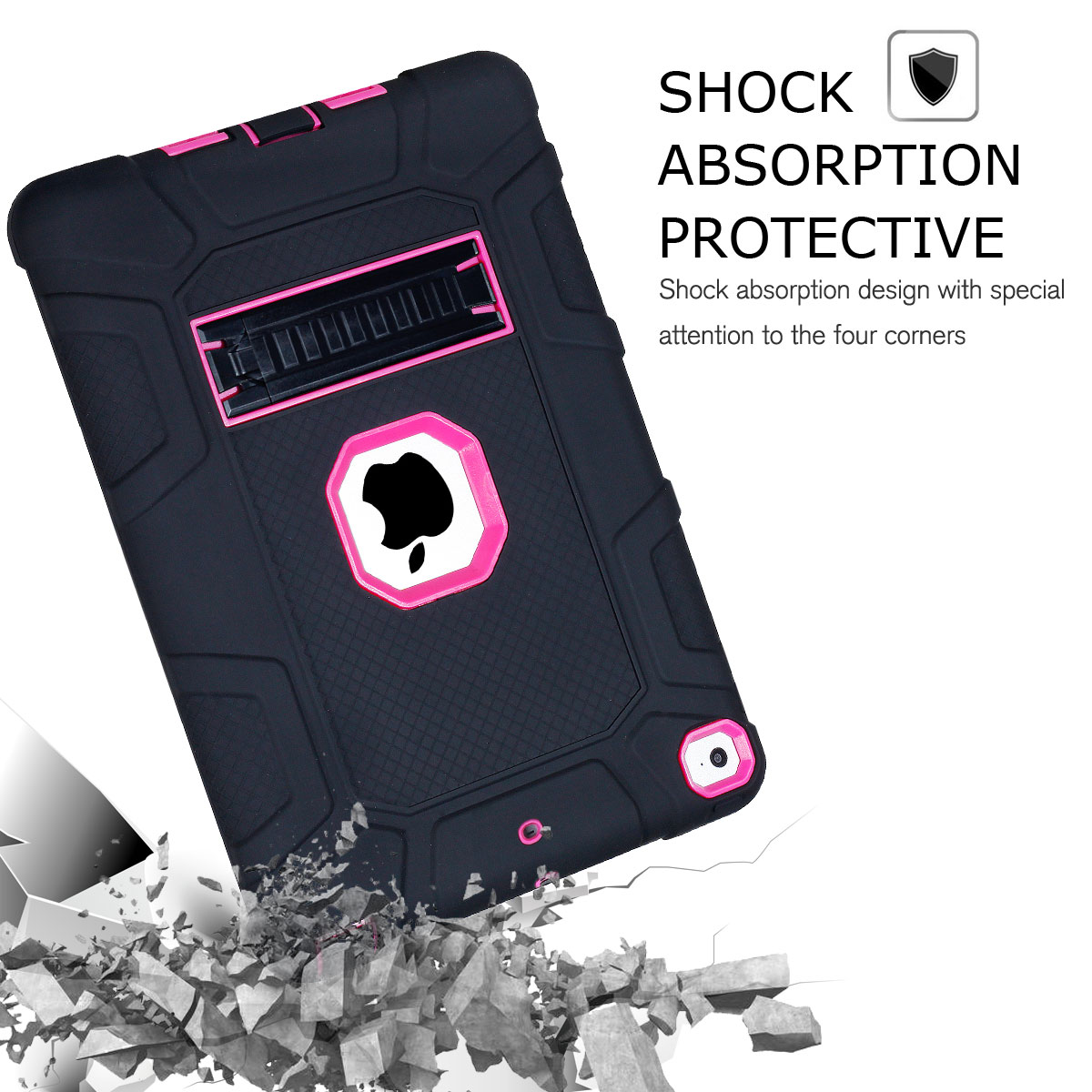 Heavy-Shockproof-Rubber-Stand-Case-Cover-For-Apple-iPad-234-5-Mini-Air-Pro-9-7-034 thumbnail 32