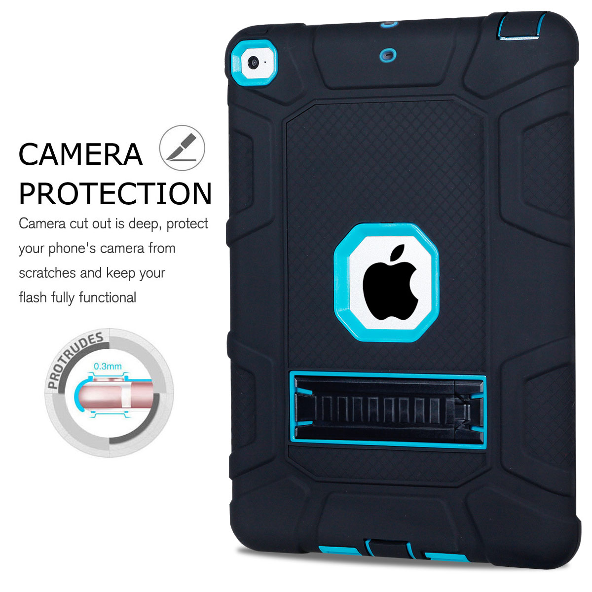Heavy-Shockproof-Rubber-Stand-Case-Cover-For-Apple-iPad-234-5-Mini-Air-Pro-9-7-034 thumbnail 34