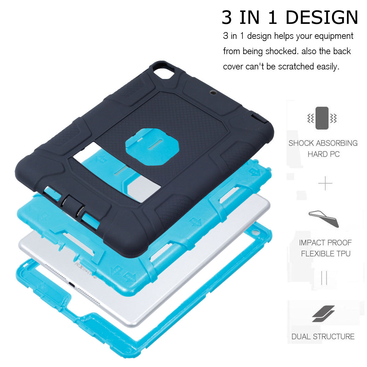 Heavy-Shockproof-Rubber-Stand-Case-Cover-For-Apple-iPad-234-5-Mini-Air-Pro-9-7-034 thumbnail 37