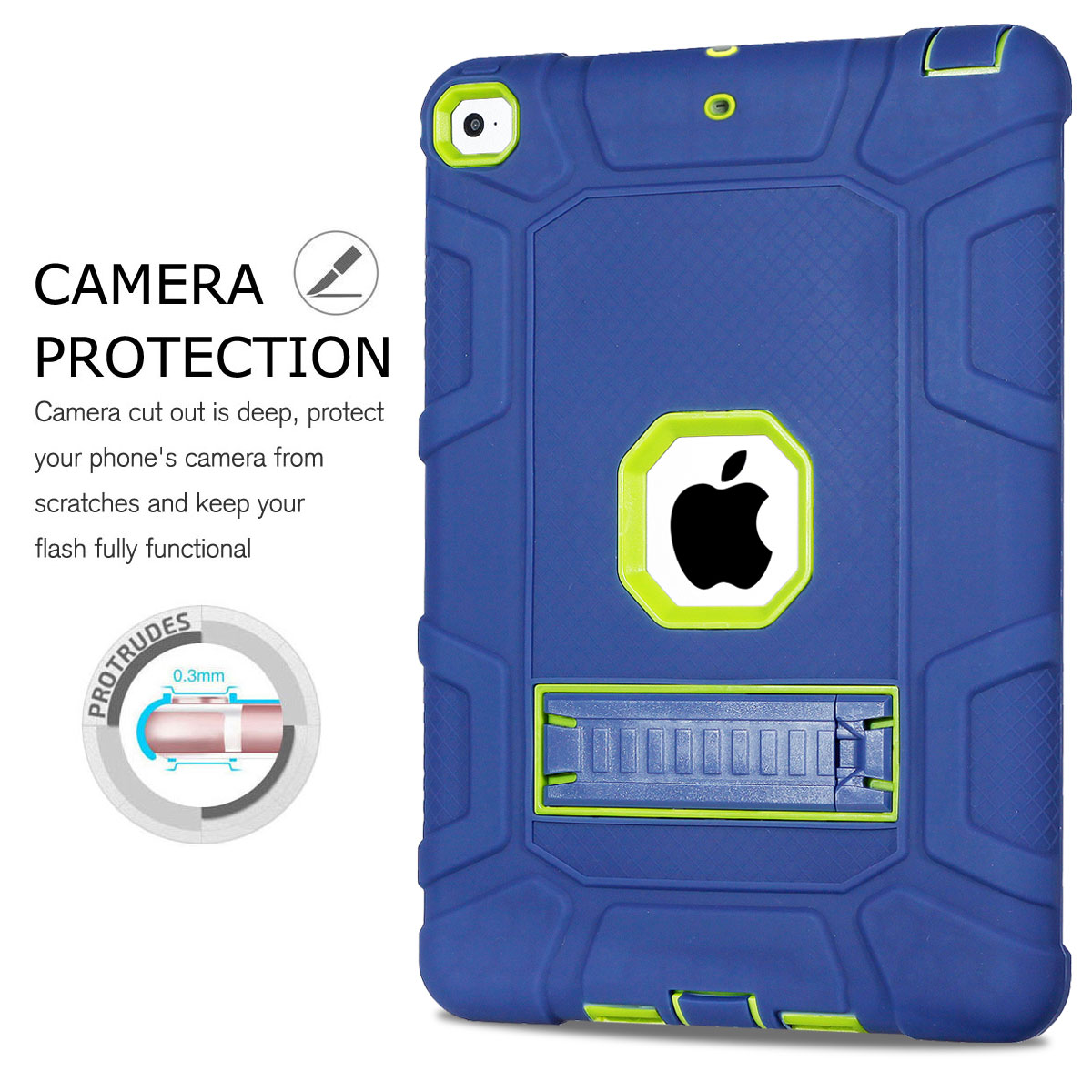 Heavy-Shockproof-Rubber-Stand-Case-Cover-For-Apple-iPad-234-5-Mini-Air-Pro-9-7-034 thumbnail 48